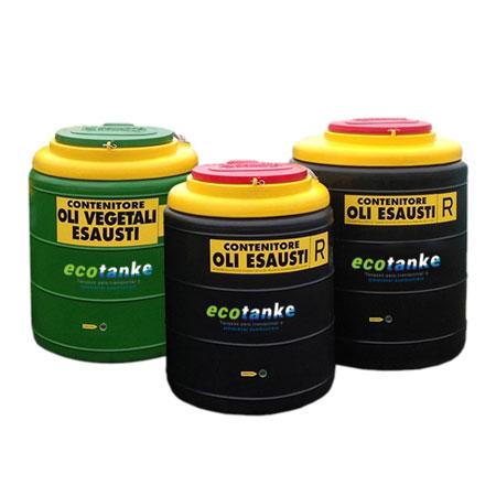 Contenedores para aceites usados